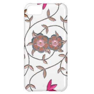 Pink Spring Flower Garden Case For iPhone 5C