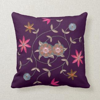 Pink Spring Flower Garden Pillows