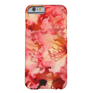 Pink spring rhododendrons print iphone case