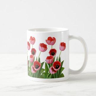 Pink Spring Tulip Bouquet Photograph Coffee Mug