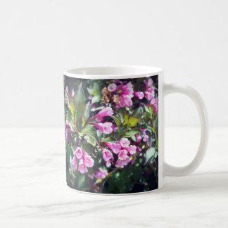 Pink Spring Weigela Coffee Mug