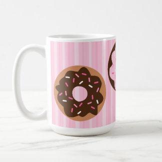 Pink Sprinkled Donut Coffee Mug