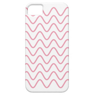 Pink Squiggles Girly iPhone 5 Case