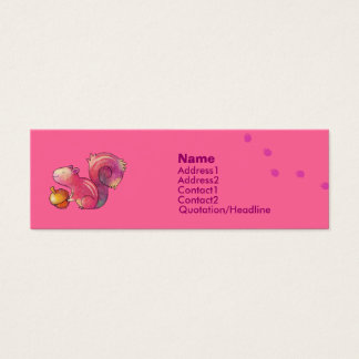 Pink squirrel Profile Card