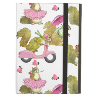 Pink Squirrels iPad Air iPad Air Cover