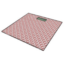 Pink Standard Ribbon Bathroom Scale
