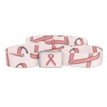 Pink Standard Ribbon Belt