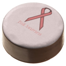 Pink Standard Ribbon by Kenneth Yoncich Chocolate Covered Oreo