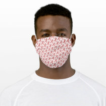 Pink Standard Ribbon by Kenneth Yoncich Cloth Face Mask
