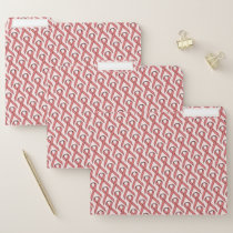 Pink Standard Ribbon by Kenneth Yoncich File Folder