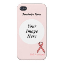 Pink Standard Ribbon by Kenneth Yoncich iPhone 4/4S Cover