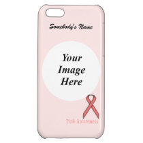 Pink Standard Ribbon by Kenneth Yoncich iPhone 5C Case