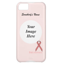 Pink Standard Ribbon by Kenneth Yoncich iPhone 5C Cover