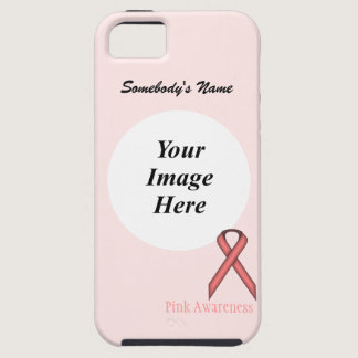 Pink Standard Ribbon by Kenneth Yoncich iPhone SE/5/5s Case