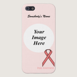 Pink Standard Ribbon by Kenneth Yoncich iPhone SE/5/5s Cover