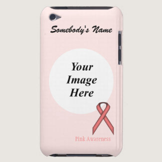 Pink Standard Ribbon by Kenneth Yoncich iPod Touch Case