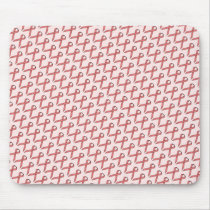Pink Standard Ribbon by Kenneth Yoncich Mouse Pad