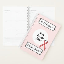 Pink Standard Ribbon by Kenneth Yoncich Planner