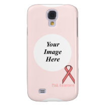 Pink Standard Ribbon by Kenneth Yoncich Samsung Galaxy S4 Case