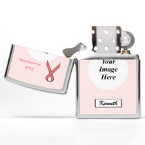 Pink Standard Ribbon by Kenneth Yoncich Zippo Lighter