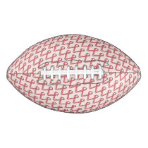 Pink Standard Ribbon Football