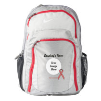 Pink Standard Ribbon Template Backpack