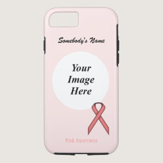 Pink Standard Ribbon Template by Kenneth Yoncich iPhone 8/7 Case