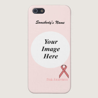 Pink Standard Ribbon Template by Kenneth Yoncich iPhone SE/5/5s Case