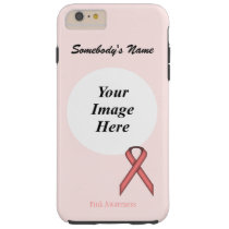 Pink Standard Ribbon Template by Kenneth Yoncich Tough iPhone 6 Plus Case