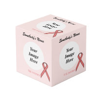 Pink Standard Ribbon Template Cube
