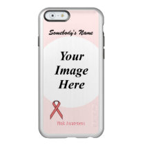 Pink Standard Ribbon Template Incipio Feather Shine iPhone 6 Case