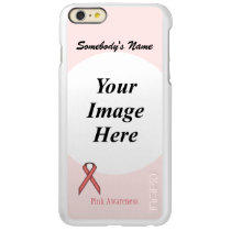 Pink Standard Ribbon Template Incipio Feather Shine iPhone 6 Plus Case