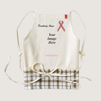 Pink Standard Ribbon Template Zazzle HEART Apron