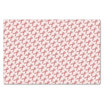 Pink Standard Ribbon Tissue Paper
