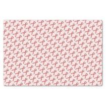 Pink Standard Ribbon Tissue Paper
