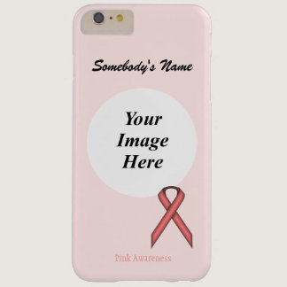 Pink Standard Ribbon Tmpl by Kenneth Yoncich Barely There iPhone 6 Plus Case