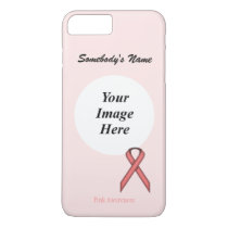 Pink Standard Ribbon Tmpl by Kenneth Yoncich iPhone 7 Plus Case