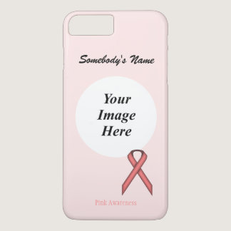 Pink Standard Ribbon Tmpl by Kenneth Yoncich iPhone 8 Plus/7 Plus Case