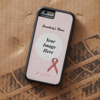Pink Standard Ribbon Tmpl by Kenneth Yoncich Tough Xtreme iPhone 6 Case