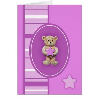 Pink Star Card