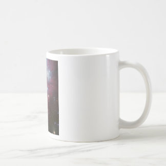 Pink Star Cluster Nebula Coffee Mug