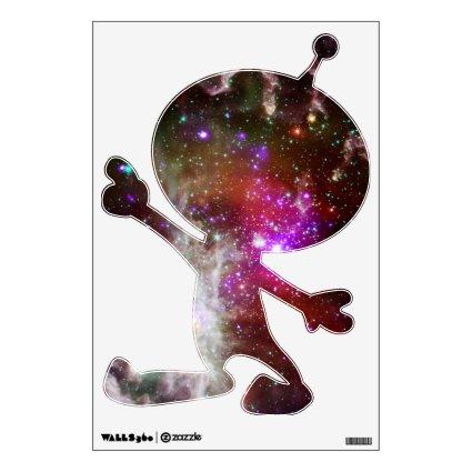 Pink Star Cluster Pacman Nebula Room Graphics