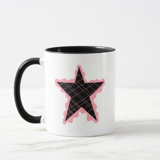 Pink Star Flame Mug
