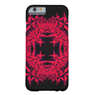 Pink Star Fractal Barely There iPhone 6 Case