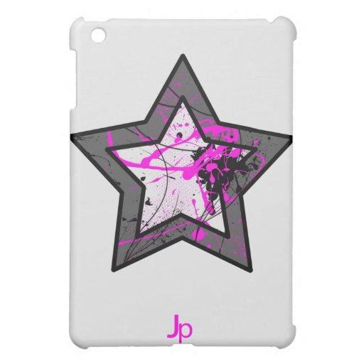Pink Star iPad Case Light
