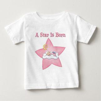Pink  Star is Born Announcement Tee Shirt