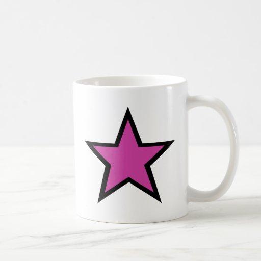 Pink star products! coffee mug