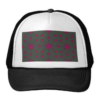 Pink Starbursts Trucker Hat