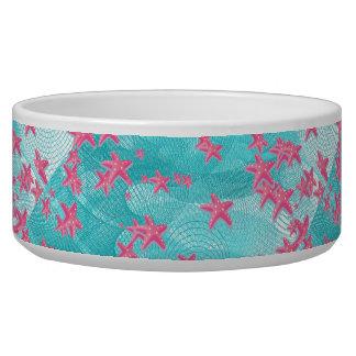 Pink starfish bowl
