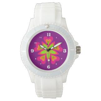 Pink StarFlower Wrist Watch